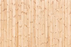 Natural wood texture - knotty wooden boards background Stock Photography