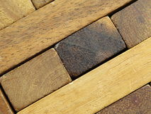 Natural wood  texture pattern rectangular Royalty Free Stock Photography