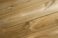 Natural wooden background. High angle view Stock Images