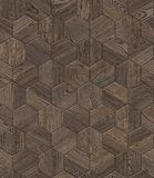 Natural wooden background honeycomb, grunge parquet flooring design seamless texture. For 3d interior Royalty Free Stock Photo