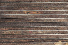 Natural wooden background, table or boards. Top view royalty free stock photo