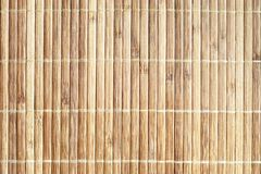 Natural wooden background texture of bamboo boards royalty free stock photos