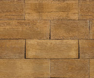 Natural wooden blocks stacked for background Stock Images
