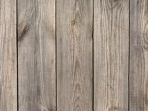 Natural wooden board background Stock Photography