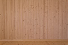 Natural wooden boards Stock Photo