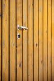 Natural Wooden Door Background Stock Photos