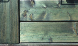 Natural wooden green background texture. Stock Photo
