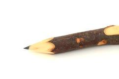 Natural wooden pencil Stock Photos