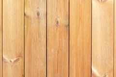 Natural wooden plank panel board.  Royalty Free Stock Photos