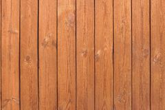 Natural Wooden Slats Brown Panel. Natural Wooden Slats Panel Brown Background or Texture Royalty Free Stock Images