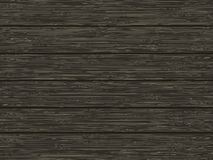 Natural wooden texture of dark brown color. Vector illustration Stock Photo