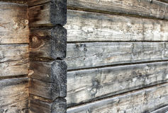 Natural wooden wall background Royalty Free Stock Photography