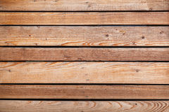 Natural wooden wall. Background texture Stock Photos