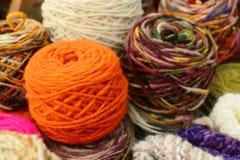 Natural wool Royalty Free Stock Photos