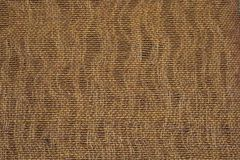 Natural woven beige fabric Royalty Free Stock Photography