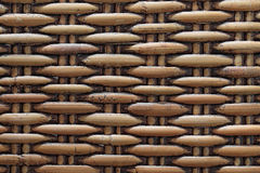 Natural woven rattan background. close up Royalty Free Stock Photos
