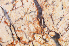 natural yellow marble texture for pattern and background Royalty Free Stock Photo