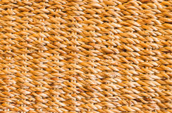Natural yellow straw texture and background.  royalty free stock photography