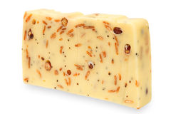 Natural yogurt soap bar with muesli Stock Photo
