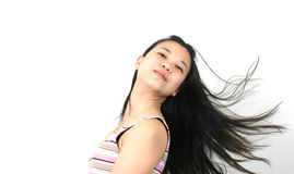 Natural young asian girl 13 royalty free stock image