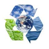 Naturale ricicli immagini stock