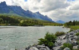 Naturaleza canadiense - Canmore, Alberta Imagen de archivo libre de regalías
