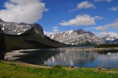 Naturaleza canadiense Kananaskis Foto de archivo libre de regalías