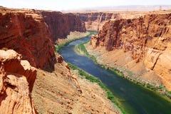 Naturaleza clásica del río de América - de Colorado Fotografía de archivo libre de regalías