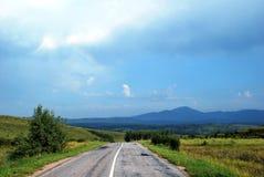 Naturaleza de Altai Imagenes de archivo