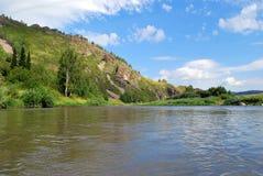 Naturaleza de Altai Fotografía de archivo