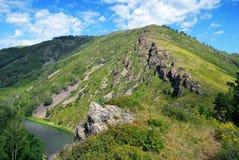 Naturaleza de Altai Imagen de archivo