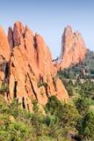 Naturaleza de Colorado Springs fotos de archivo libres de regalías