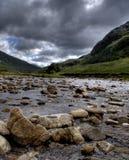 Naturaleza de Escocia para los caminante Imagenes de archivo