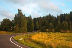 Naturaleza de Finlandia Fotos de archivo libres de regalías