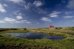 Naturaleza de Islandia y el viajar de los paisajes Foto de archivo libre de regalías