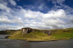 Naturaleza de Islandia y el viajar de los paisajes Imagenes de archivo