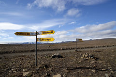 Naturaleza de Islandia y el viajar de los paisajes Fotografía de archivo libre de regalías