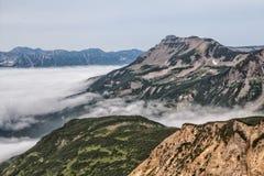 Naturaleza de Kamchatka Paisajes y vistas magníficas del Kam Fotografía de archivo libre de regalías
