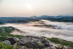Naturaleza de Kamchatka Paisajes y vistas magníficas del Kam Fotografía de archivo