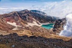 Naturaleza de Kamchatka Paisajes y vistas magníficas del Kam Imagen de archivo