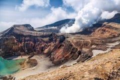 Naturaleza de Kamchatka Paisajes y vistas magníficas del Kam Foto de archivo