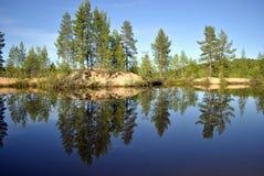 Naturaleza de Karelia Foto de archivo