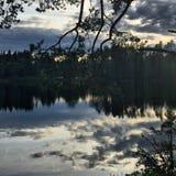 Naturaleza de Karelia fotografía de archivo