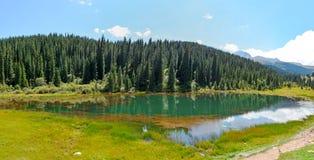 Naturaleza de Kirguistán, Gregory Gorge Imagenes de archivo
