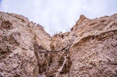 Naturaleza de la mina de la arena fotografía de archivo libre de regalías