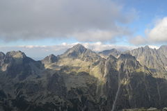 Naturaleza de la montaña Fotografía de archivo libre de regalías