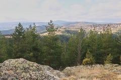 Naturaleza de la montaña Fotos de archivo libres de regalías