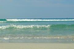Naturaleza de la playa de la onda Imagenes de archivo