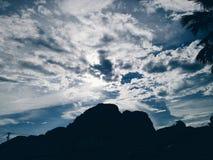 Naturaleza de los cielos nublados fotografía de archivo libre de regalías
