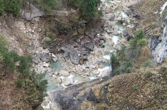 Naturaleza de los ríos Imagen de archivo libre de regalías